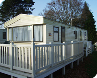Elegant Holiday Caravans For Hire At Bashley Park In The New Forest